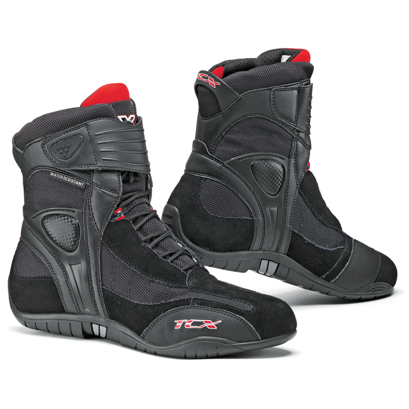 TCX X-CUBE SHORT SPORTS CASUAL WATERPROOF PADDOCK MOTORCYCLE ANKLE ...