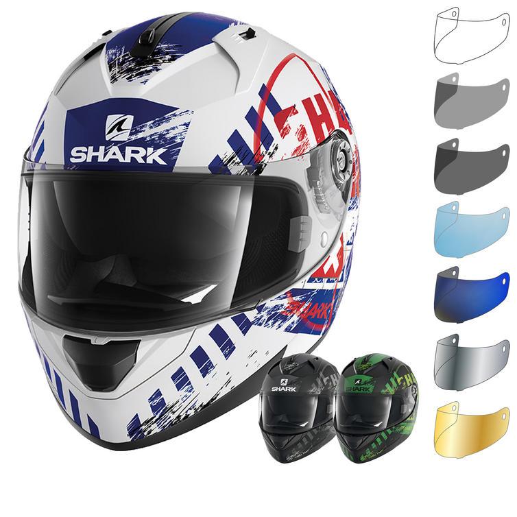 Shark Ridill Skyd Motorcycle Helmet & Visor