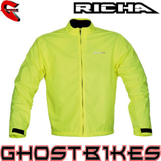 View Item Richa Fluo Rain Motorcycle Over Jacket