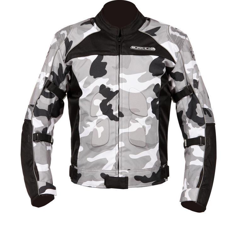 Buffalo Camo Motorcycle Jacket