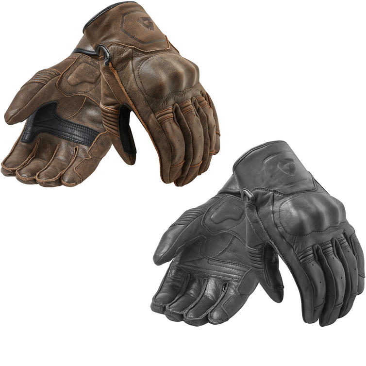 Rev It Palmer Leather Motorcycle Gloves