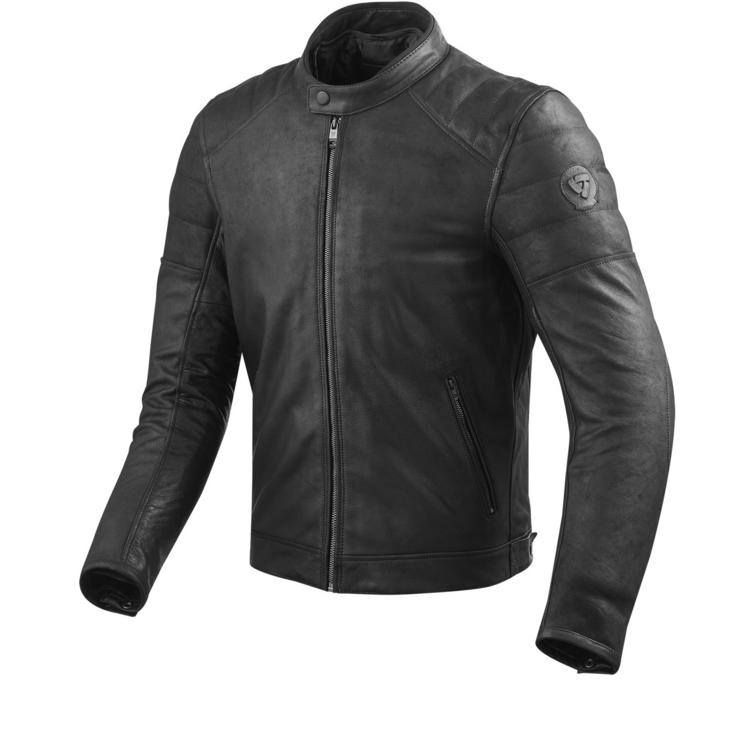 Rev It Stewart Leather Motorcycle Jacket