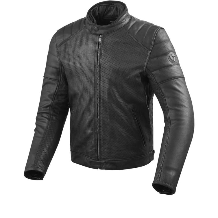 Rev It Stewart Air Leather Motorcycle Jacket