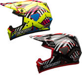 Bell MX-9 MIPS Tagger Double Trouble Motocross Helmet
