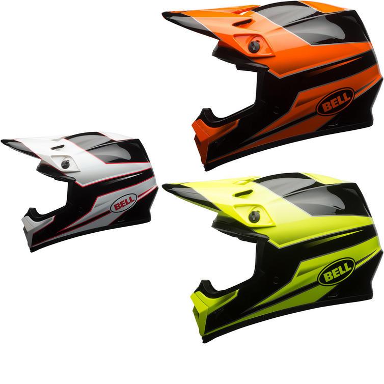 Bell MX-9 MIPS Stryker Motocross Helmet