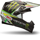 Bell Moto-9 Flex Monster Pro Circuit Motocross Helmet