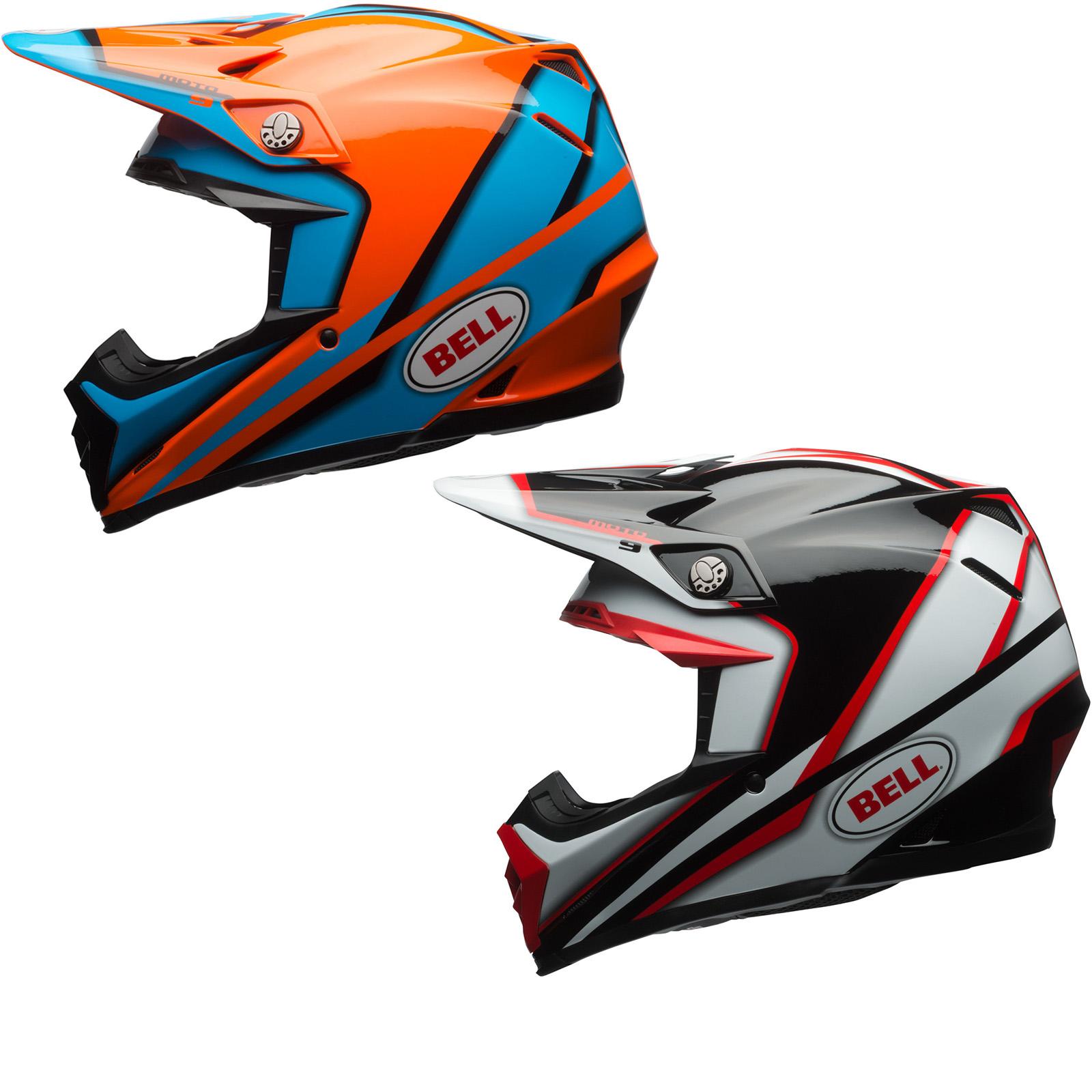 bell moto 9 spark motocross helmet new arrivals. Black Bedroom Furniture Sets. Home Design Ideas