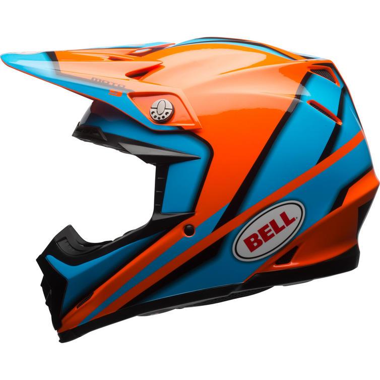 bell moto 9 spark motocross helmet bell. Black Bedroom Furniture Sets. Home Design Ideas