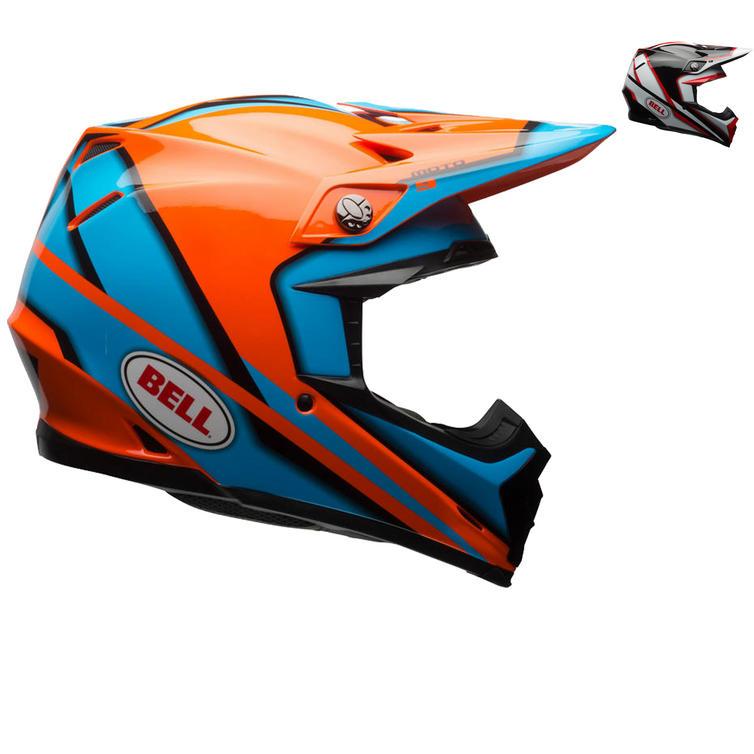 Bell Moto-9 Spark Motocross Helmet