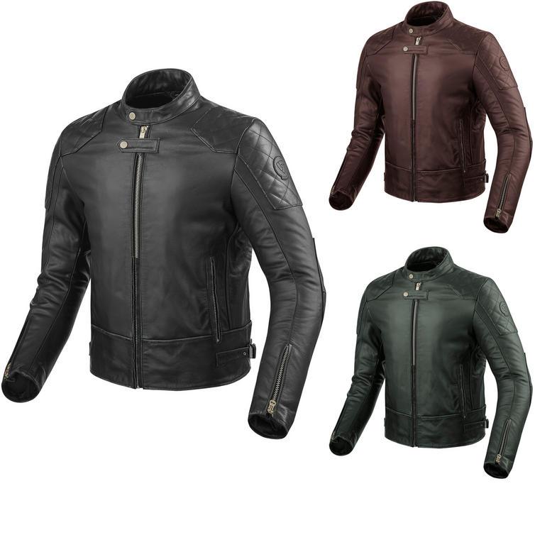 Rev It Lane Leather Motorcycle Jacket