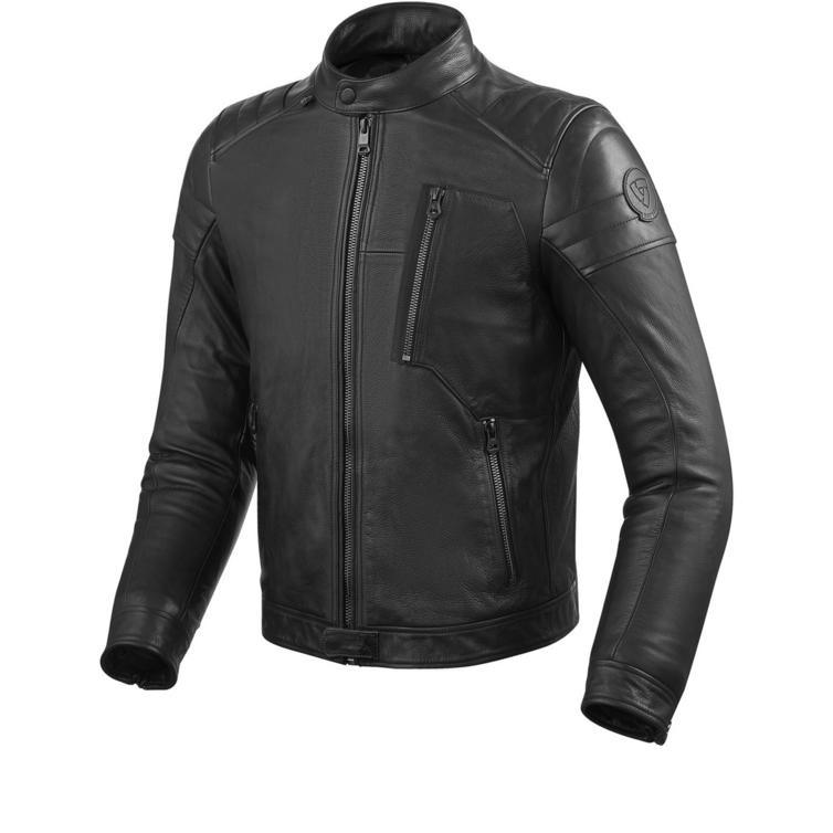 Rev It Naples Leather Motorcycle Jacket