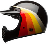 Bell Moto-3 Chemical Candy Motorcycle Helmet