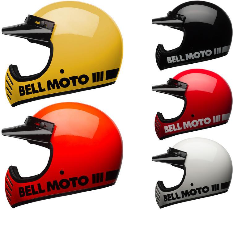 Bell Moto-3 Classic Motorcycle Helmet