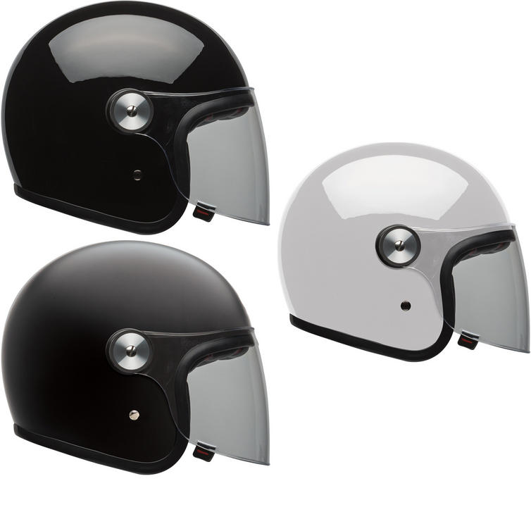 Bell Riot Solid Open Face Motorcycle Helmet