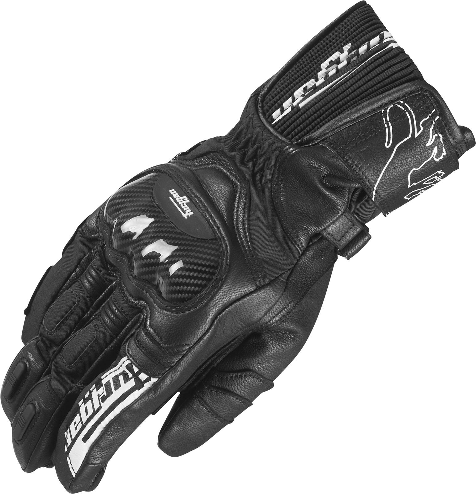 Motorcycle gloves all season - Furygan Mercury Sympatex Leather Motorcycle Gloves All Season