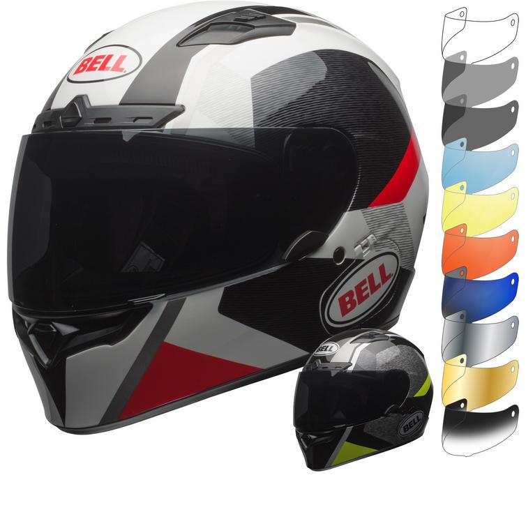 Bell Qualifier DLX MIPS Accelerator Motorcycle Helmet & Visor