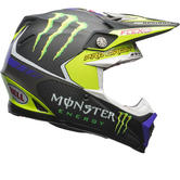 Bell Moto-9 Flex Monster Pro Circuit 17 Motocross Helmet