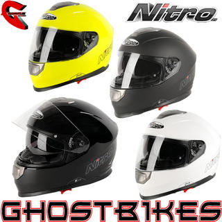 View Item Nitro NP-1100F Apex Motorcycle Helmet