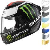 Shark Race-R Pro Carbon Lorenzo Monster Motorcycle Helmet & Visor