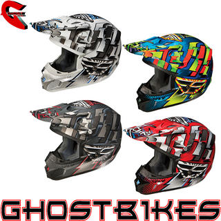 View Item Fly Racing 2012 Kinetic Dash Motocross Helmet