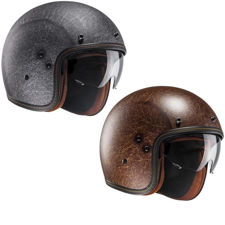 HJC FG-70S Vintage Open Face Motorcycle Helmet