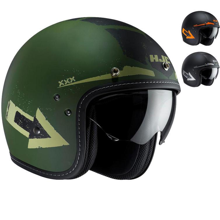 HJC FG-70S Tales Open Face Motorcycle Helmet