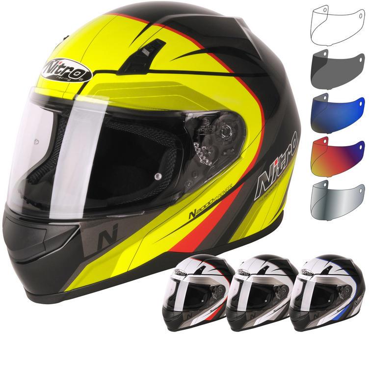 Nitro N2000 Pioneer Motorcycle Helmet & Visor