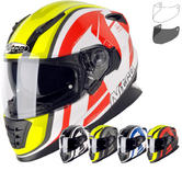 Nitro NRS-01 Pursuit DVS Motorcycle Helmet & Visor