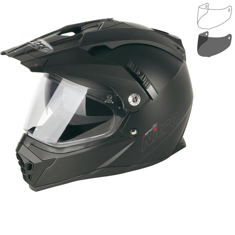 Nitro MX660 Uno DVS Dual Sport Helmet & Visor