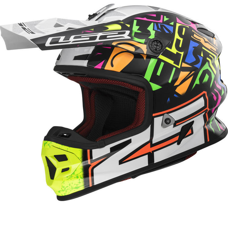 LS2 MX456 Light Evo Punch Motocross Helmet
