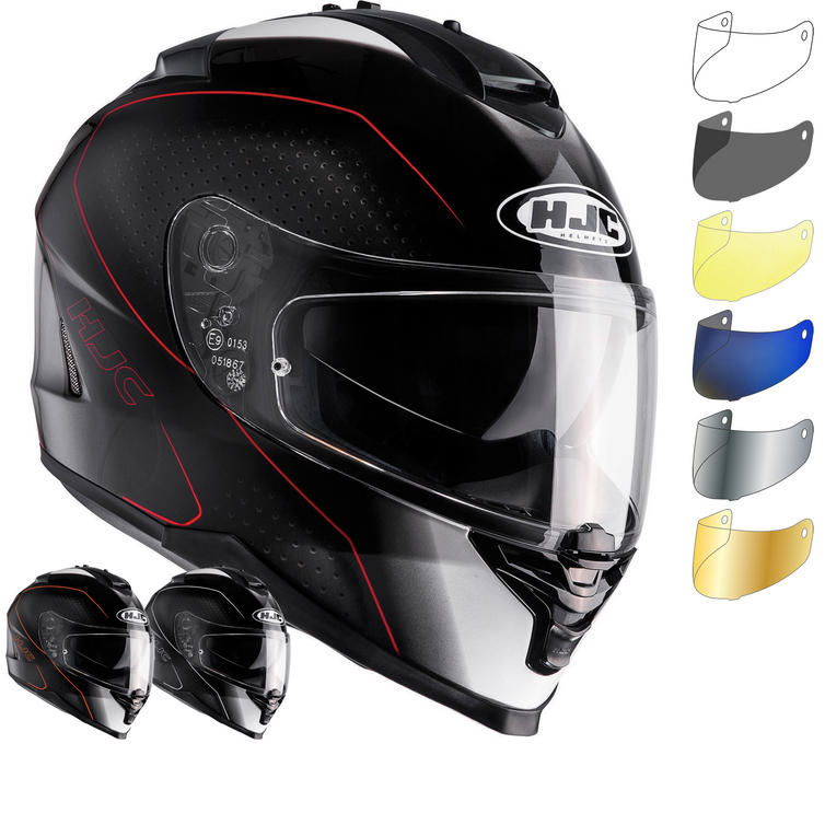 HJC IS-17 Arcus Motorcycle Helmet & Visor