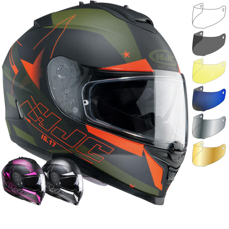 HJC IS-17 Armada Motorcycle Helmet & Visor