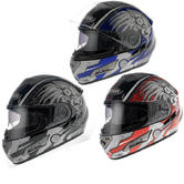 View Item Viper RS-V7 Zero Cyborg Motorcycle Helmet