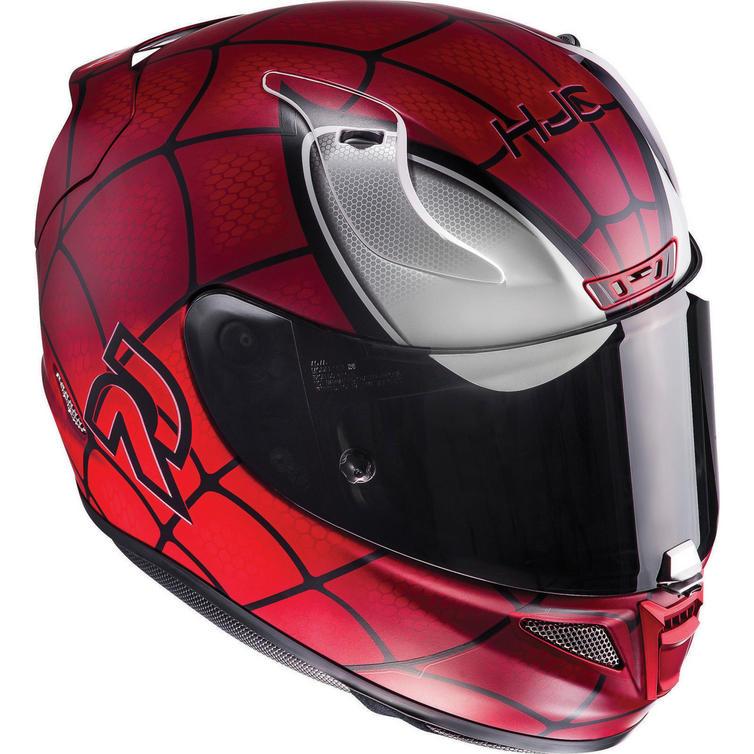 Hjc rpha 11 spiderman motorcycle helmet visor full - Spider man moto ...