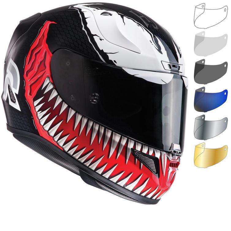 HJC RPHA 11 Venom Motorcycle Helmet & Visor