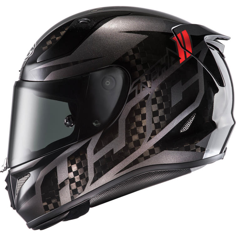 hjc rpha 11 lowin carbon motorcycle helmet visor full. Black Bedroom Furniture Sets. Home Design Ideas