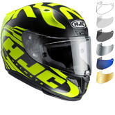HJC RPHA 11 Eridano Motorcycle Helmet & Visor