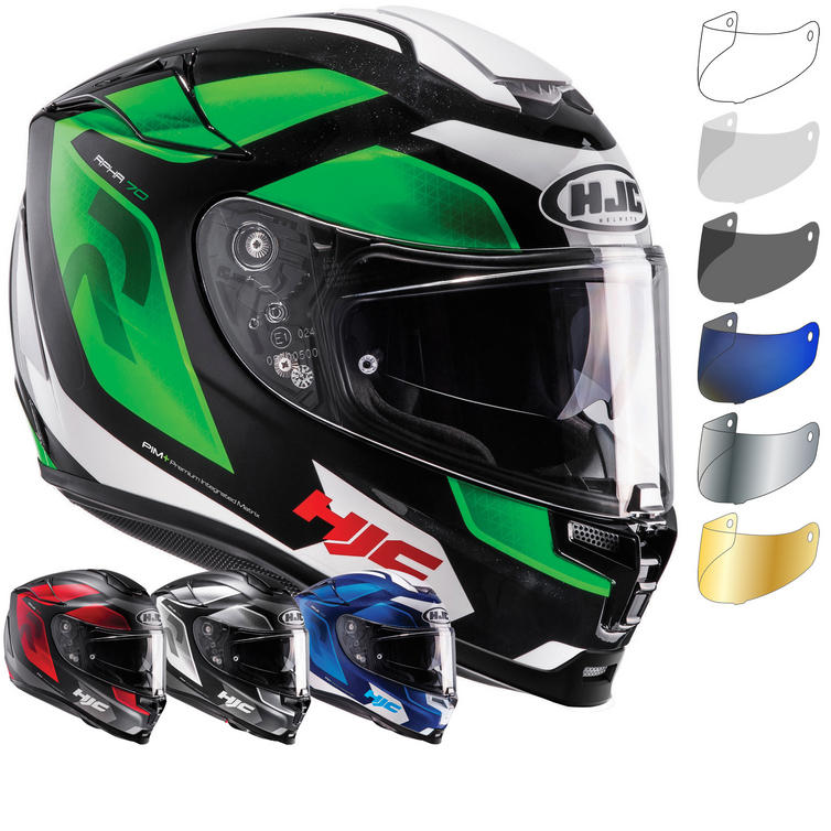 HJC RPHA 70 Grandal Motorcycle Helmet & Visor