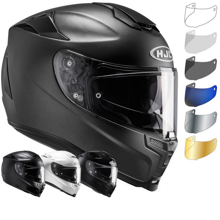 Image of HJC RPHA 70 Plain Motorcycle Helmet & Visor
