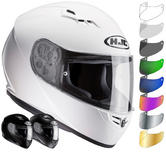 HJC CS-15 Plain Motorcycle Helmet & Visor