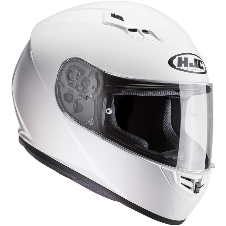 HJC CS-15 Plain Motorcycle Helmet & Visor