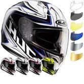 HJC FG-ST Crucial Motorcycle Helmet & Visor