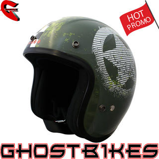 Duchinni D506 Force Open Face Motorcycle Helmet
