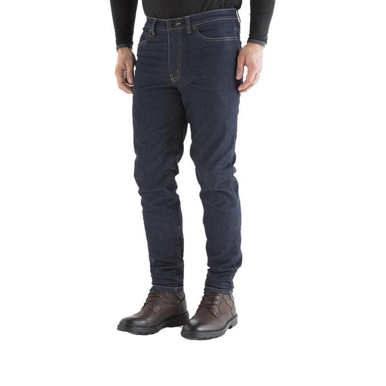 Knox Spencer Slim Fit Blue Motorcycle Jeans