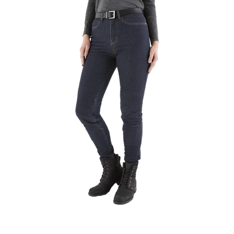 Knox Scarlett Skinny Fit Ladies Blue Motorcycle Jeans