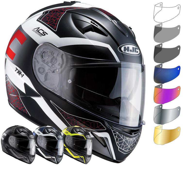 HJC TR-1 Tholos Motorcycle Helmet & Visor