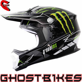 View Item Oneal 712 Monster Energy Motocross Helmet