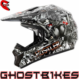 View Item Oneal Rockhard 2 Hustler Limited Edition Motocross Helmet
