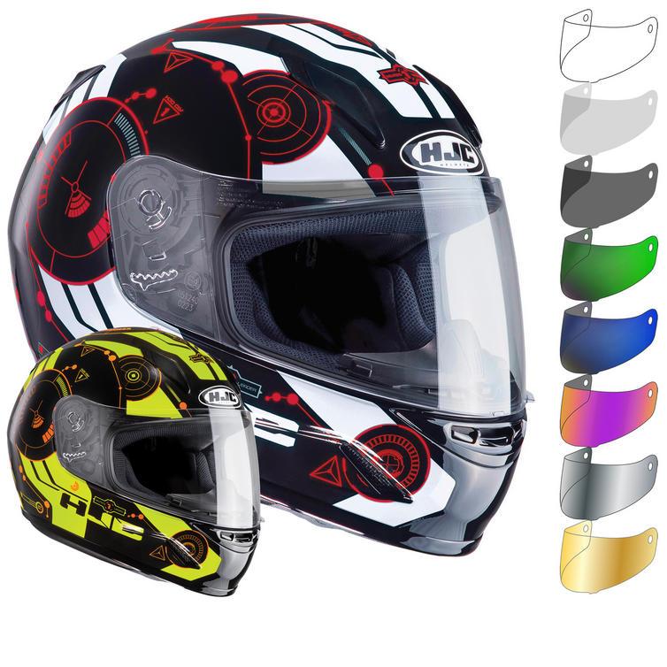 HJC CL-Y Simitic Youth Motorcycle Helmet & Visor