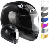 HJC CL-SP Plain Motorcycle Helmet & Visor